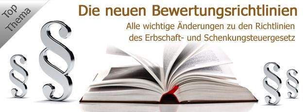 Neue Bewertungsrichtlinie 2012